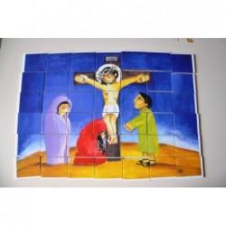 Ježíš na kříži -...