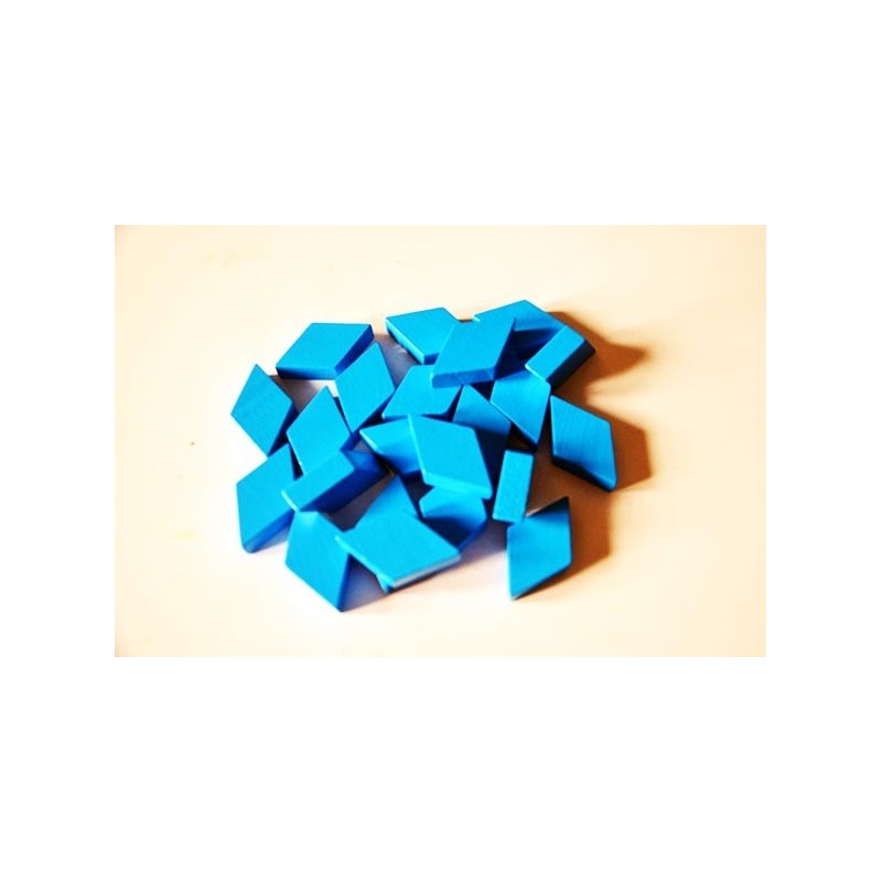 Modré rovnoběžníky