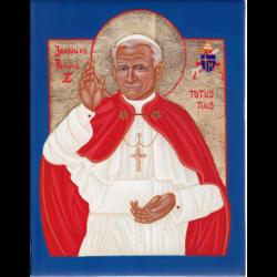 Blahoslavený Jan Pavel II. 23 x 17 cm