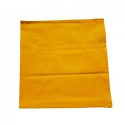 bavlněný šátek klasický - žlutý