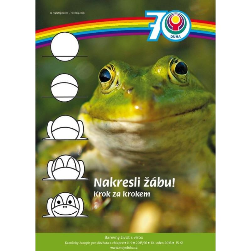 Nakresli žábu! Krok za krokem