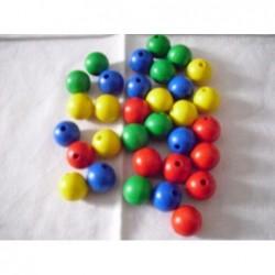 barevné korále menší