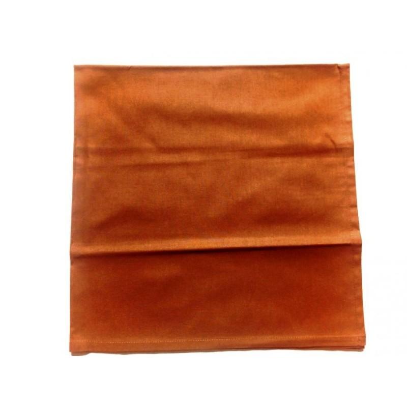 Bavlněný šátek klasický - hnědý