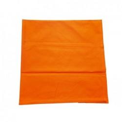 Bavlněný šátek klasický - oranžový