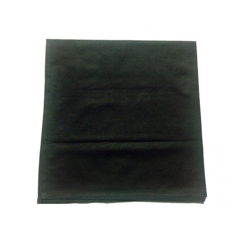 Bavlněný šátek klasický - černý
