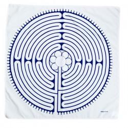 Šátek - labyrint v Chartres
