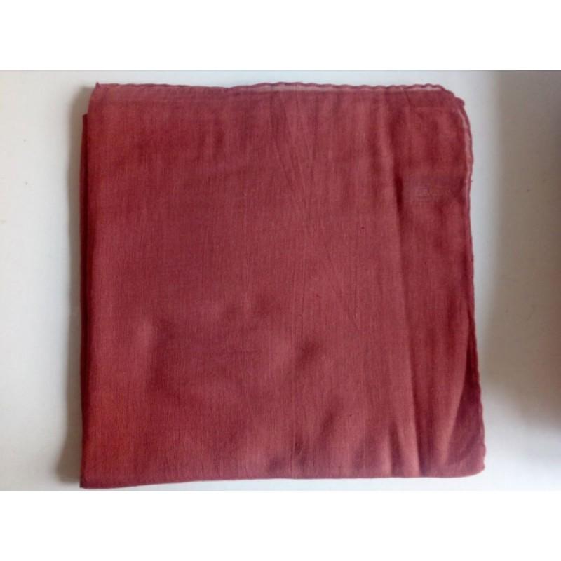 Jemný bavlněný šátek - hnědý
