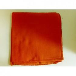 Jemný bavlněný šátek - oranžový