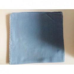Jemný bavlněný šátek - světle modrý