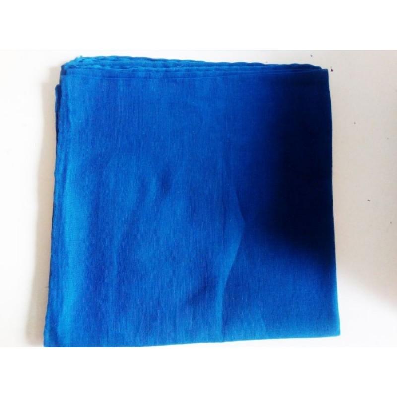 Jemný bavlněný šátek - zářivě modrý